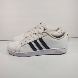 Adidas Baseline K Sz 5.5Y AW4299 Wht Blk